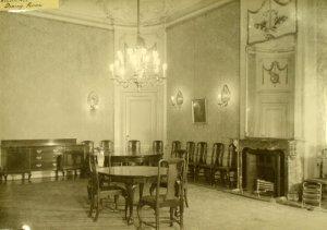 Dining room, 1946.