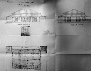 Plans and elevations, 1898.