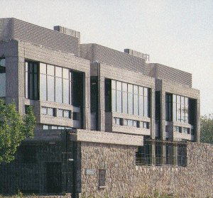 New immigration wing completed, 1993.