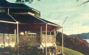 View from beside main veranda, 1981.