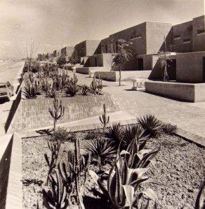 Junior staff housing, 1973.