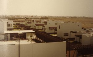 Staff houses in consulate-general compound, c.1990.