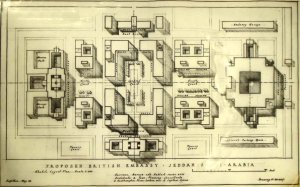Proposed layout foir new compound, 1949.