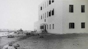 Staff flats, 1953.