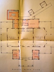 Ground floor plan, 1962.