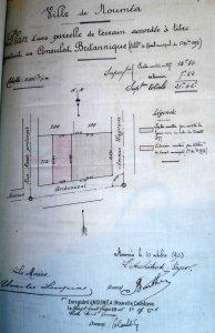 Siteplan, 1903.