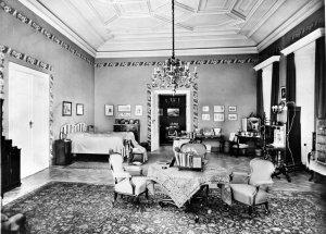 Residence master bedroom, 1946.