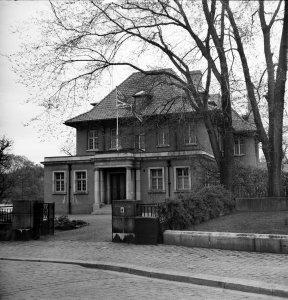Entrance, 1958.