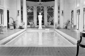 Residence pool, 1959.