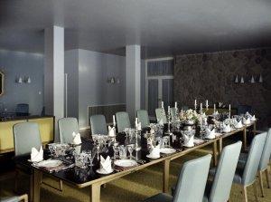 Dining room, 1960.
