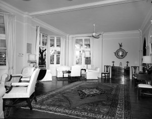 The drawing room, 1962.