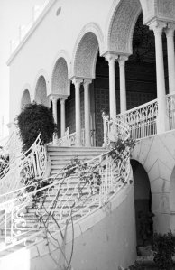 Stair to terrace, 1967.
