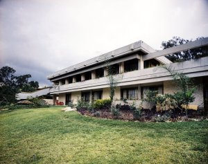 Garden front, from the north-west, 1973.