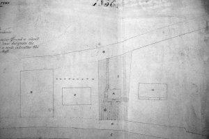 Siteplan, 1850.