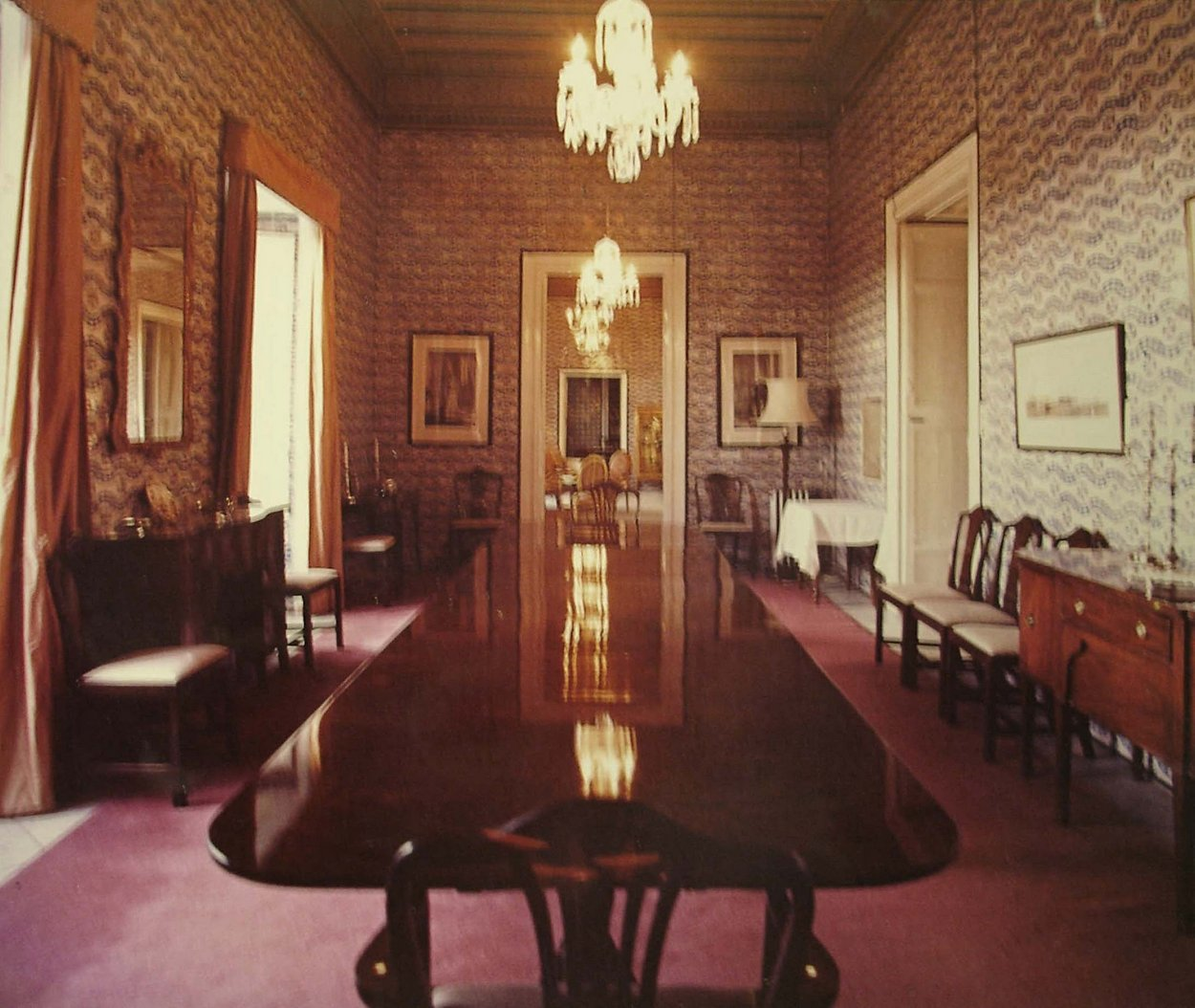 The Dining Room, 1971.