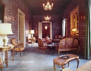 The drawing room, 1971.