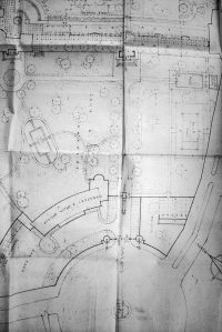 Wilson and Mason's proposal for re-arranging Tigris Compound, 1947.
