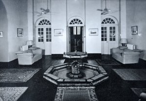 Residence entrance hall, ?date.