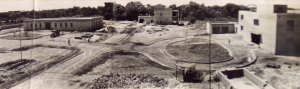 Compound under construction, here seen from roof of consul's house, 1950.