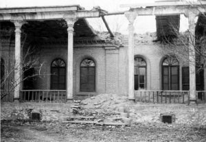 Ruined former vice-consul 's house, 1965.