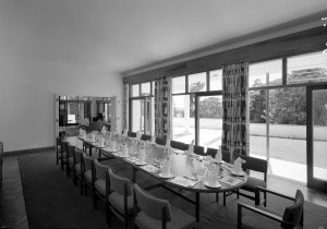 Dining room, 1963.