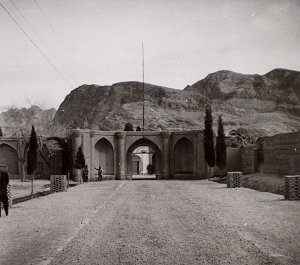 Main gate to compound, ? date.