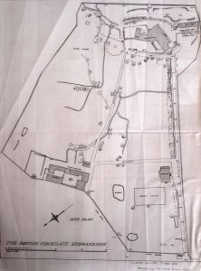 Plan of compound, 1927.