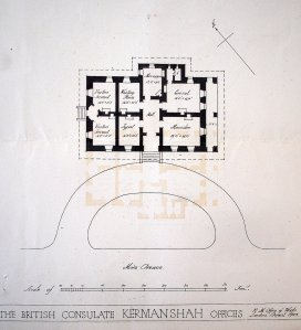 Plan for new consulate offices, 1923.