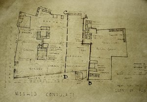 Plan of compound, ? date.