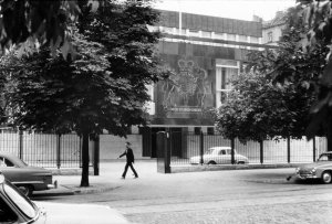 Residence from the street, 1964.