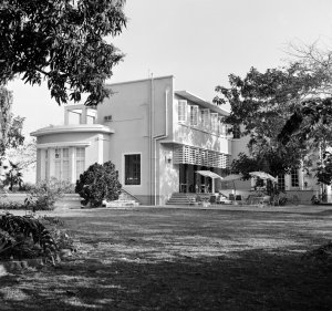 Residence garden terrace, 1964.