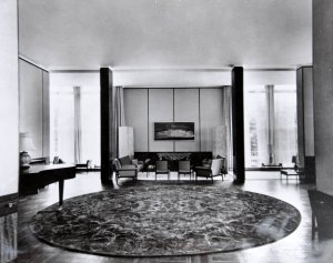 Part of drawing room, 1964.