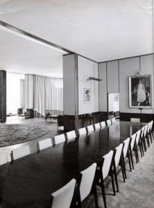 Dining room, 1964.