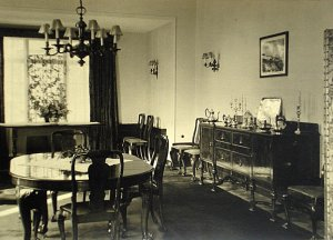 Dining room, as recently extended, 1946.