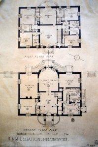 Residence floorplans, 1935.