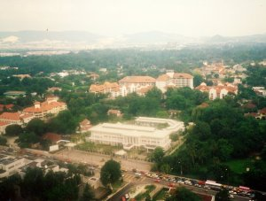 Ampang offices site as developed, 1990.