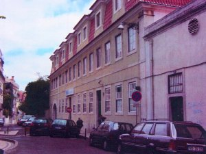 The British Hospital, with Estrela Hall on the right, 2005.