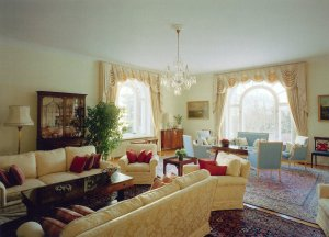 The drawing room, 1990s.