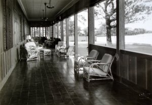 Ground floor veranda, 1938.