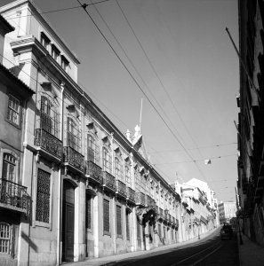 The offices on Rua de Sao Domingos, 1953.
