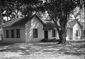Second Secretary bungalow, close to First Secretary house, 1954.