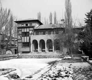 Garden front 1958.