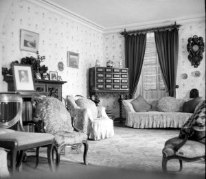 The drawing room, 1958.