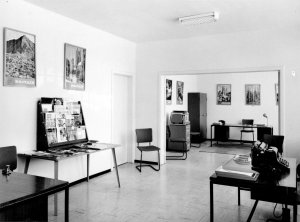 Information section general office on ground floor, 1963.