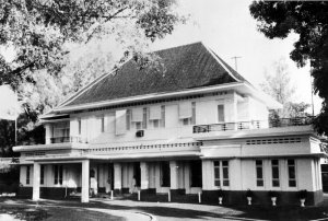 Main frontage, 1964.
