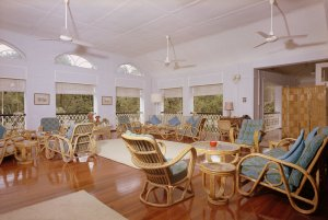 First floor veranda, 1973.