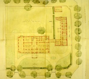 Plan for consular residence, 1929.