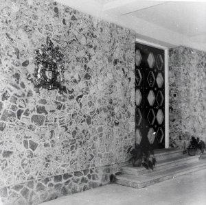 Front door, 1954.
