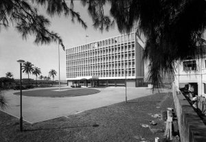 Completed offices, 1966.