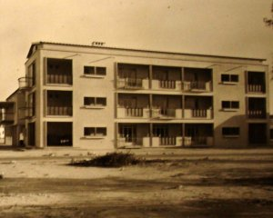 Four flats for Residency UK staff, completed 1953.